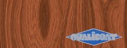 Powder coating wood effect