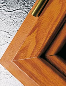 Shutter - coating wood effects