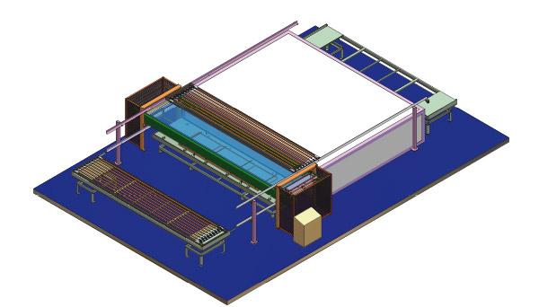 Modular 13 - semi-automatic powder coating equipment